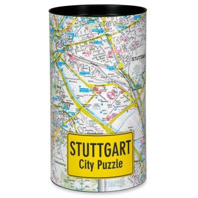 Stadtplanpuzzle Stuttgart City-Puzzle
