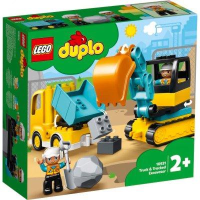 LEGO® Duplo Bagger und Laster 10931