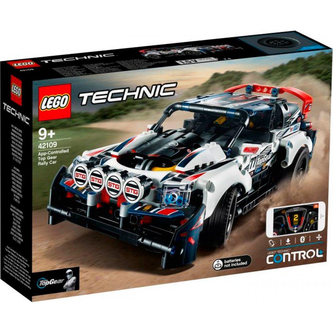 LEGO® Technic Top-Gear Ralleyauto mit App-Steuerung 42109