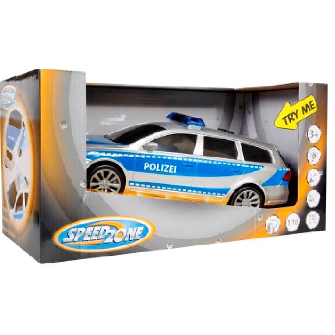 Polizei Einsatzfahrzeug mit Licht und Sound - Speedzone