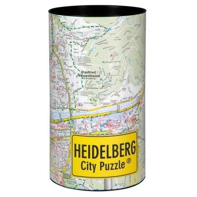 Stadtplanpuzzle Heidelberg City-Puzzle