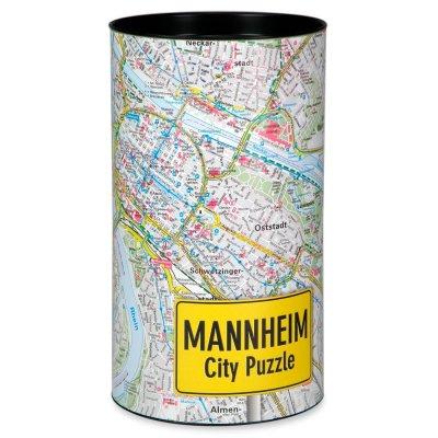 Stadtplanpuzzle Mannheim-Ludwigshafen City-Puzzle
