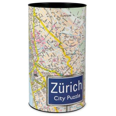Stadtplanpuzzle Zürich City-Puzzle