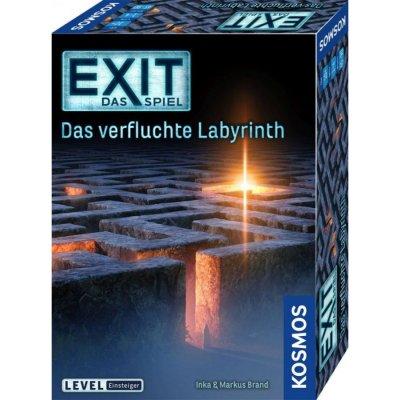 Exit-Spiel - Das verfluchte Labyrinth - Kosmos-Spiel, Einsteigerlevel ab 10 Jahre
