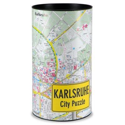 Stadtplanpuzzle Karlsruhe City-Puzzle