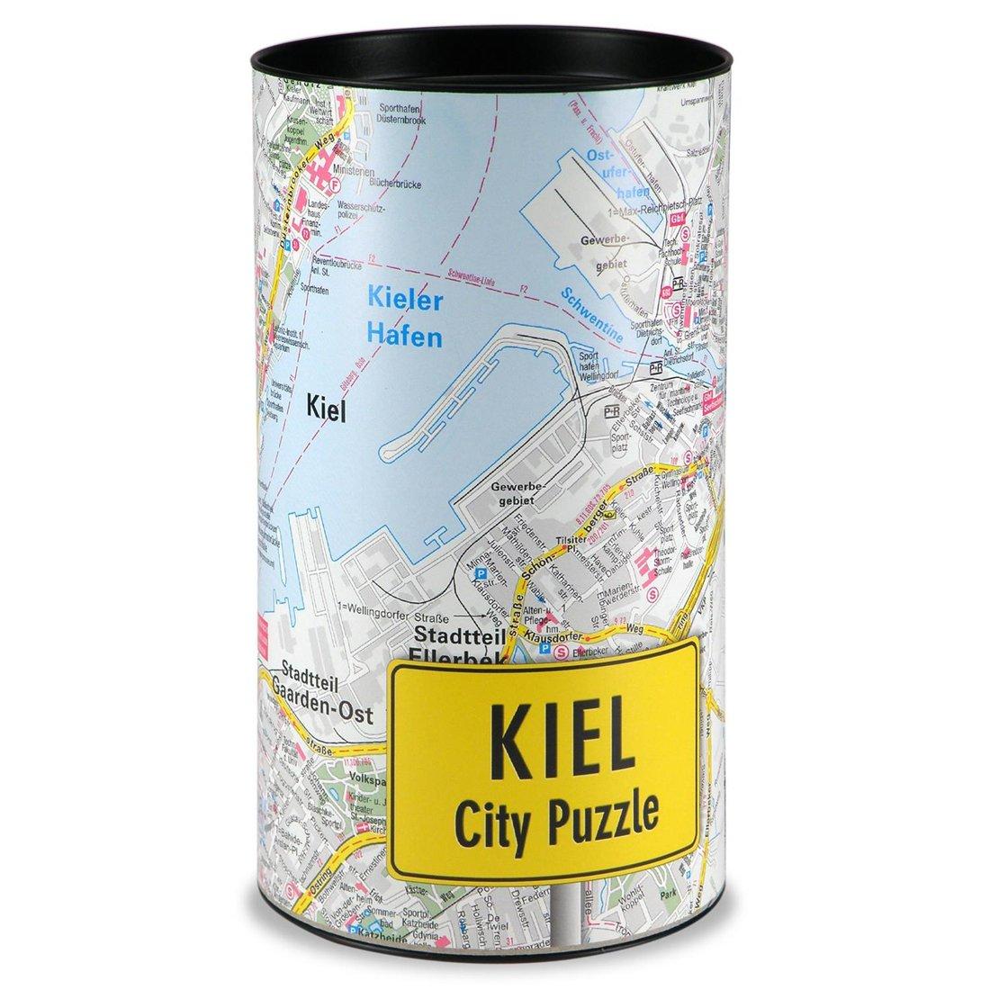 Stadtplanpuzzle Kiel City-Puzzle