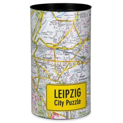 Stadtplanpuzzle Leipzig City-Puzzle