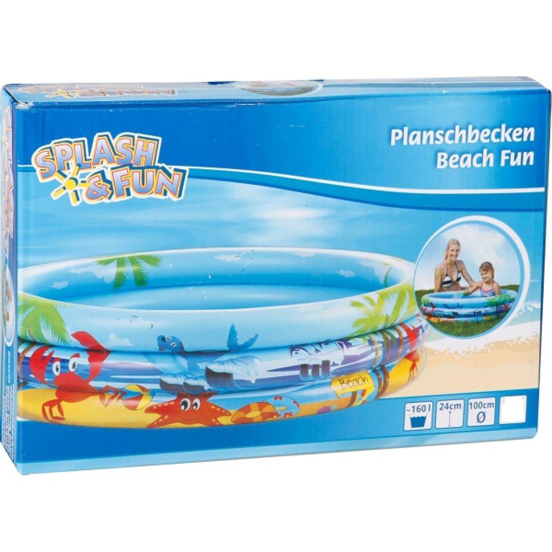 Planschbecken Splash & Fun Beach Fun 100 cm