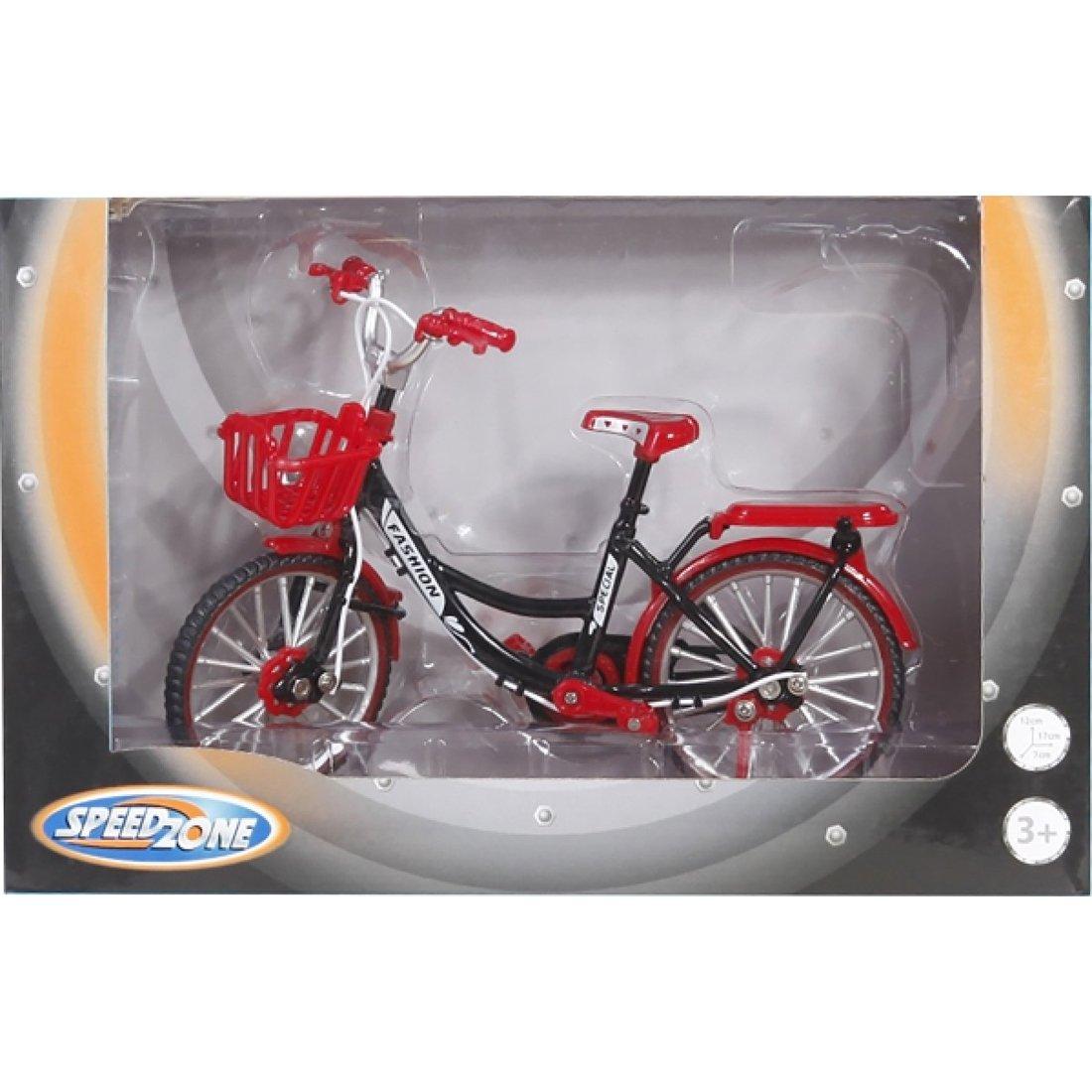 Fahrrad mit Tretfunktion Speedzone Fahrradmodell 17x12 cm