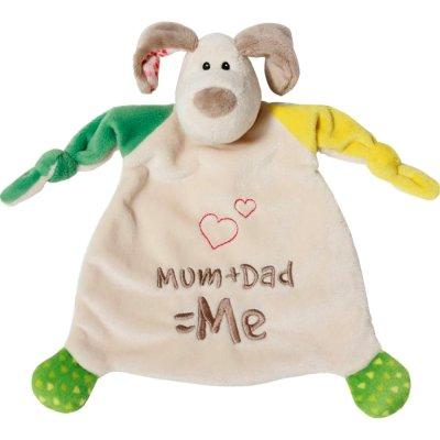 Schmusetuch Nici Mum + Dad = Me